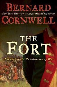 The-Fort-A-Novel-of-the-Revolutionary-War-Bernard-Cornwell-006196963X-Book-G
