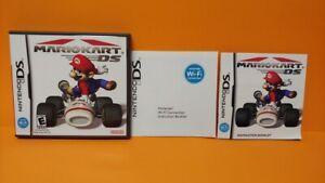 Mario Kart Racing  - Nintendo DS Case, Cover Art, Manual ONLY *NO GAME*