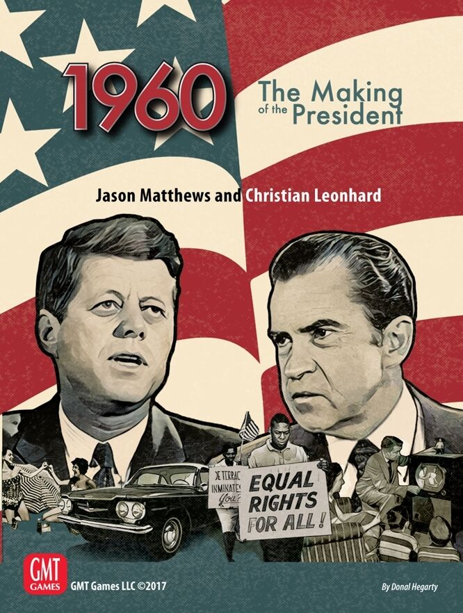 1960,The Making of the President, Boardgame, nouveau by  GMT, English Edition  vente au rabais