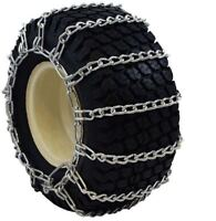 20x8.00-10 Snow Blower Garden Tractor Tire Chains 2-link 1308g Free Shipping