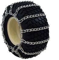 20x10.00-10 Kubota Snow Blower Garden Tractor Tire Chains 2-link 7145g