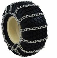 20x8.00-8 Snow Blower Garden Tractor Tire Chains 2-link 1308g Free Shipping
