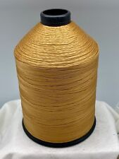 Thread T70 16 oz Spool #69 Bonded Nylon Gold Sewing B69 Made In The USA N338