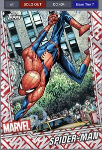 Topps-Marvel-Collect-Digital-Collectors-July-Reserve-Tier-7-Motion-Spider-Man