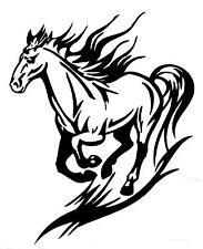 "WINDOW, CAR, VEHICLE, TRAILER, COMPUTER, "" RUNNING HORSE"" VINYL DECAL, STICKER"