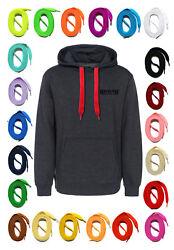 HOODIEBAND flach 32 Farben 2 Längen Kordel für Kapuzenpullover Sweatshirt SNORS