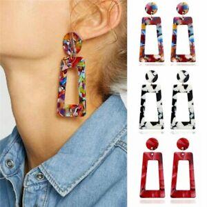 Geometric-Acrylic-Long-Dangle-Drop-Statement-Earrings-Women-Fashion-Jewelry-Gift