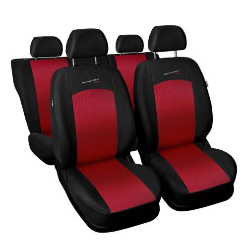 Universal auto referencias sede para Renault Twingo rojo fundas para asientos ya referencias funda del asiento