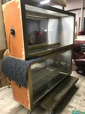 Lot Of 2 Retail Store Glass Wooden Showcase Display Cases L5 X W16 Xh29 App