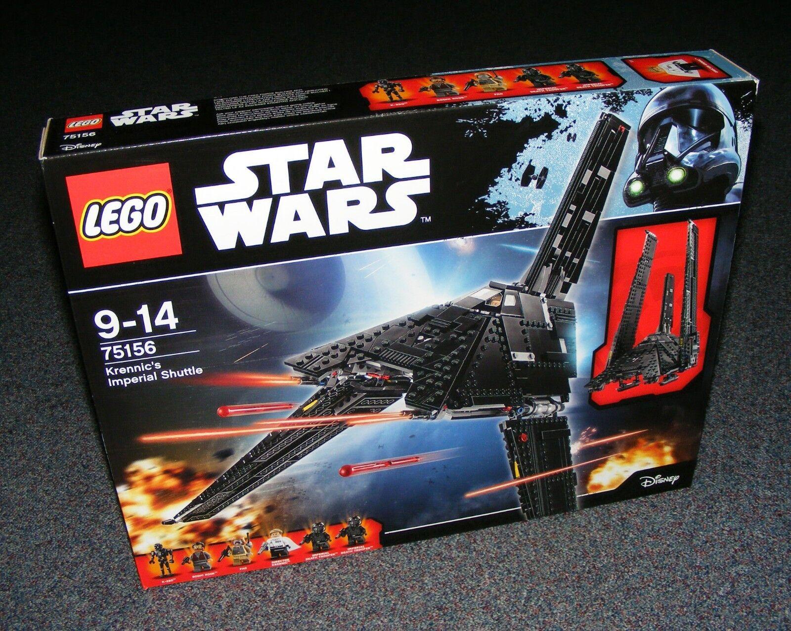 STAR WARS LEGO 75156 KRENNIC'S IMPERIAL SHUTTLE BRAND NEW SEALED BNIB