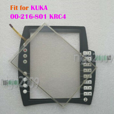 New touch glass for KRC4 teaching pendant 00-168-334 touchpad