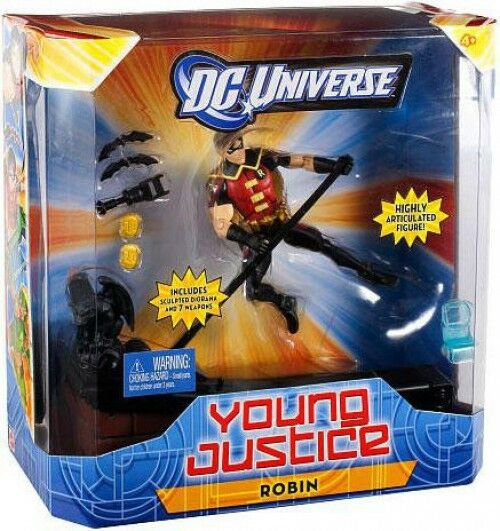 DC Universe Young Justice 6 Inch Robin Action Figure
