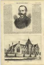 1876 New Endowed Grammar School Odiham Hants Thomas Fremantle Mp Bucks