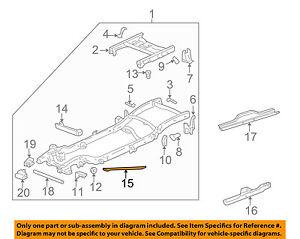 gm oem frame support brace 15760799 ebay rh ebay com