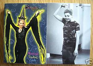 Sabrina The Teenage Witch Basic Trading Card Set