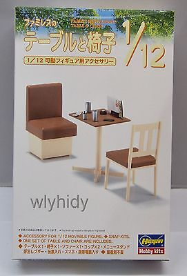 Miniature Cafe tabel and  Chair are included 1/12  Hobby Kits , h#2ok