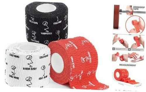 Powerlifting /& Mix 3 Rolls Premium Lifting Thumb Tape for Weightlifting