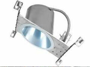 details about liton lh47 line voltage downlighting 6 inch standard sloped ceiling housing