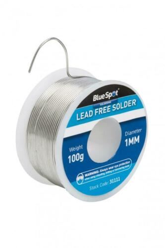 LEAD FREE SOLDER 100G 1MM WIRE DIAMETER SUITABLE FOR PROFESSIONAL USE  B31111
