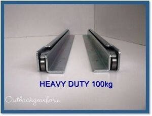 Mm Kg Wd Drawer Runners Fridge Slides Heavy Duty Ebay