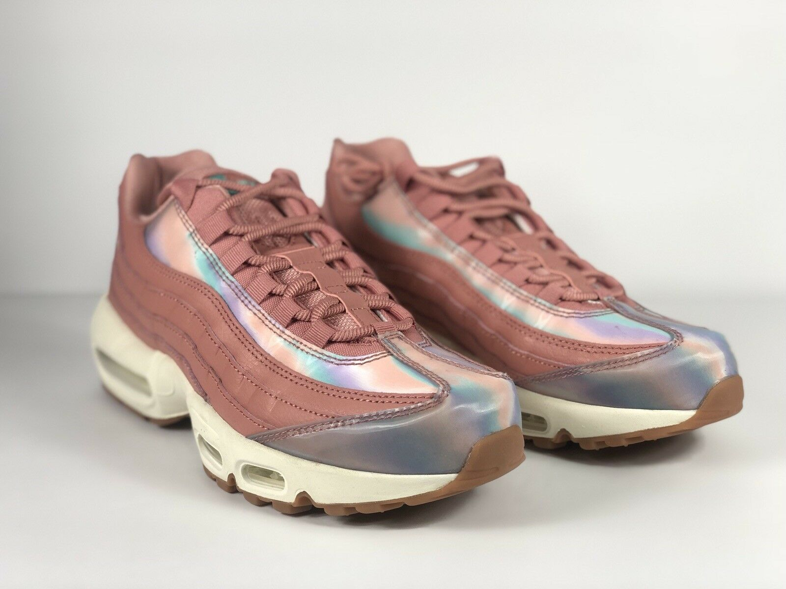 Nike Air Max 95 SE Red Stardust 918413-600 Womens Size 10 Men's 8.5