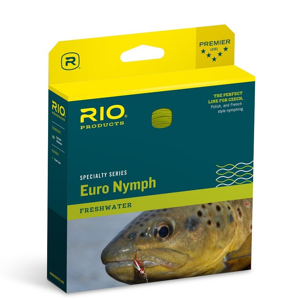 RIO FIPS Euro Nymph Fly Line, Competition One Taille - nouveau