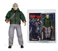8 Jason Voorhees Figure Retro-style Clothed Series Friday The 13th Doll Neca