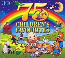 75 CHILDREN'S FAVOURITES (NEW SEALED 3CD)