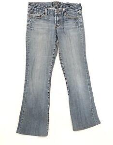 7e38cb1317c Seven7 Jeans Plus Size 30 x 28 Bootcut Leg Light Wash Denim Pants