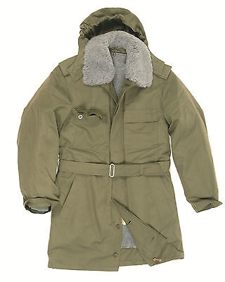New Unused Genuine Czech Army Issue  M85 Lined  Winter Soldier Parka with Hood
