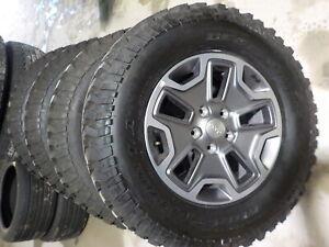 Jeep Mud Tires >> 4 Jeep Wrangler Jk Factory 17 Wheels Bfg Mud Tires 07 18 212b