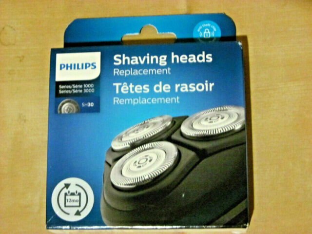 PHILIPS SH30 SHAVER HEADS (3 Pieces *NEW*)