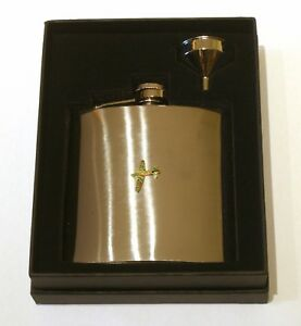 Camo Wellington Stainless Steel Hip Flask British Air Force Gift Free Engraving Uhdz7FlW-09121924-780226639
