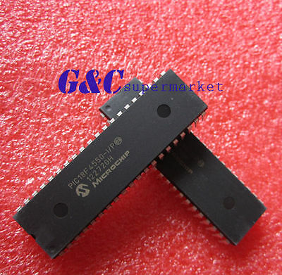 2PCS IC PIC18F4550-I/P PIC18F4550 MICROCHIP DIP-40 NEW GOOD QUALITY D2