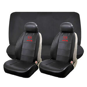Marvelous Details About 6 Piece Front Low Back Seat Cover Rear Black Bench Seat Cover Set For Dodge Ram Caraccident5 Cool Chair Designs And Ideas Caraccident5Info