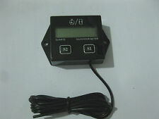 Tachometer Hour meter 2 & 4 Stroke Small Engine Spark utv atv outboard motor pwc