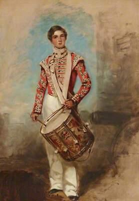 Richard Buckner Crimean War Battle of Balaclava Drummer Boy 6x4 Inch Print