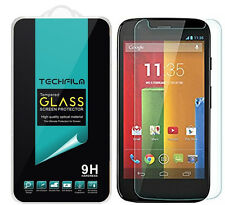TechFilm® Tempered Glass Screen Protector Saver For Motorola Moto G (1st Gen)