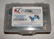 ASSOCIATED RC-10 GT RC SCREWZ SCREW SET STAINLESS STEEL ASS003