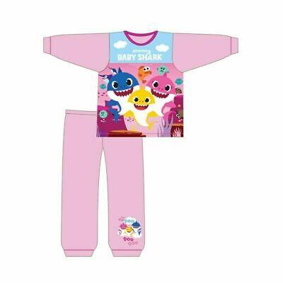 Boys Girls Kids Toddler Baby Shark Pyjamas Pjs Song Doo Doo 12Months 4 Years