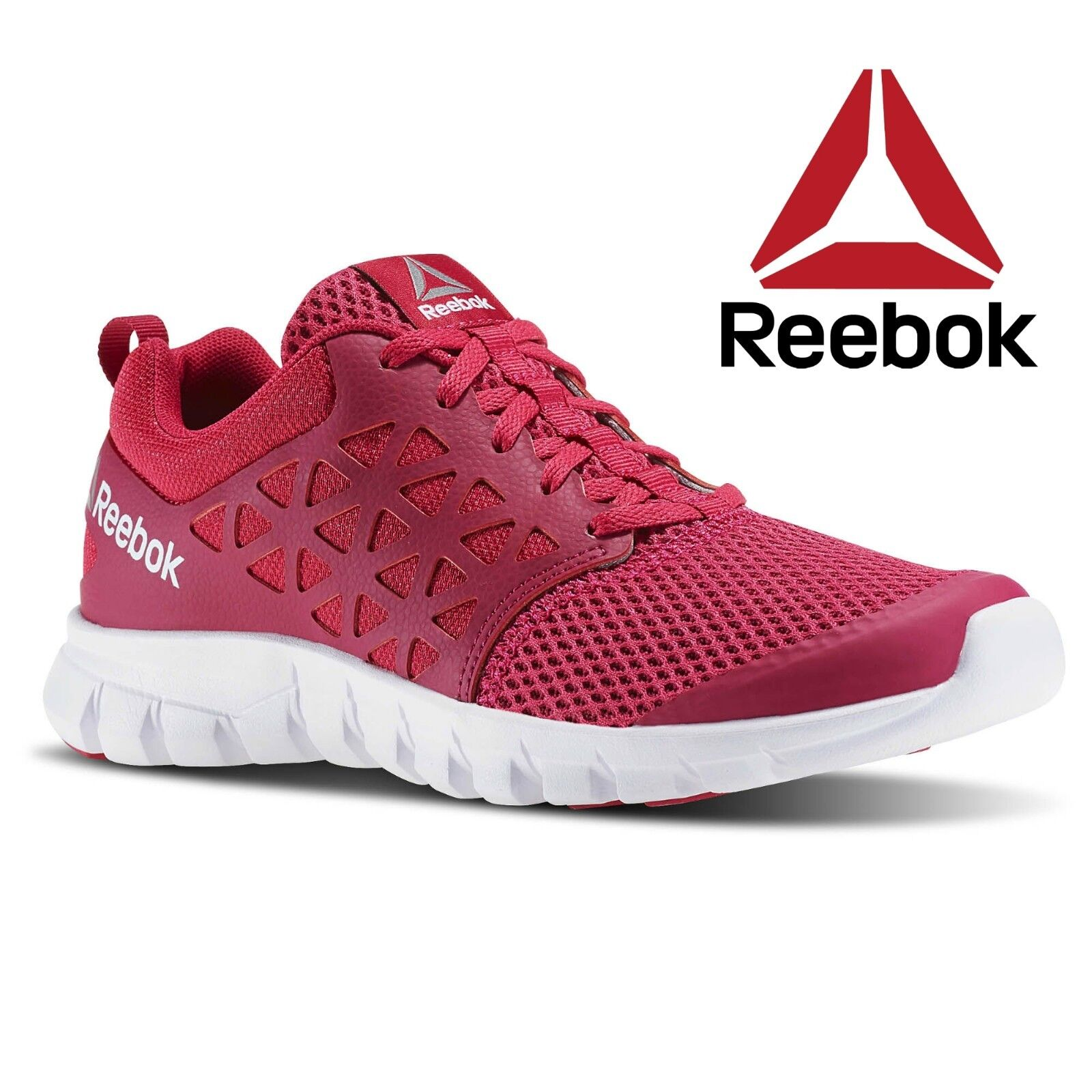 Reebok Women's Sublite Xt Cushion 2.0 Mt Running shoes Trainers Gym Free Postage