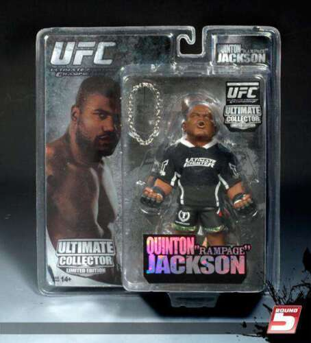 """Quinton /""""RAMPAGE/"""" Jackson UFC Ultime Collector SERIES 4 Edition Limitée Round 5"""