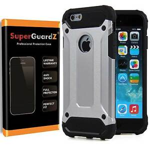 SuperGuardZ-Slim-Shockproof-Protective-Cover-Case-Armor-For-iPhone-7-6S-6-SE-5S