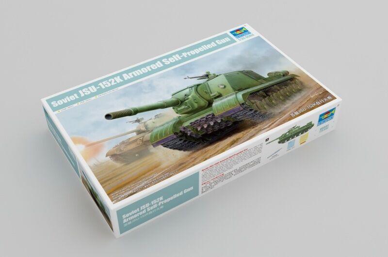 05591 Trumpeter JSU-152K Armonred Self-Propelled Artillery Gun Tank 1 35 Model