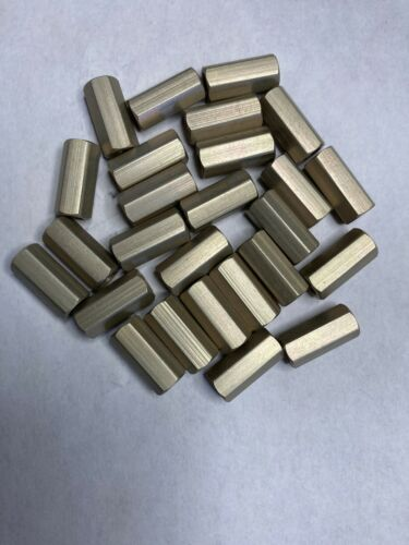 "HH Smith//Abbatron 9294 Spacer 6-32× 9//16""Long x 1//4"" Hex Aluminum 25 pcs."