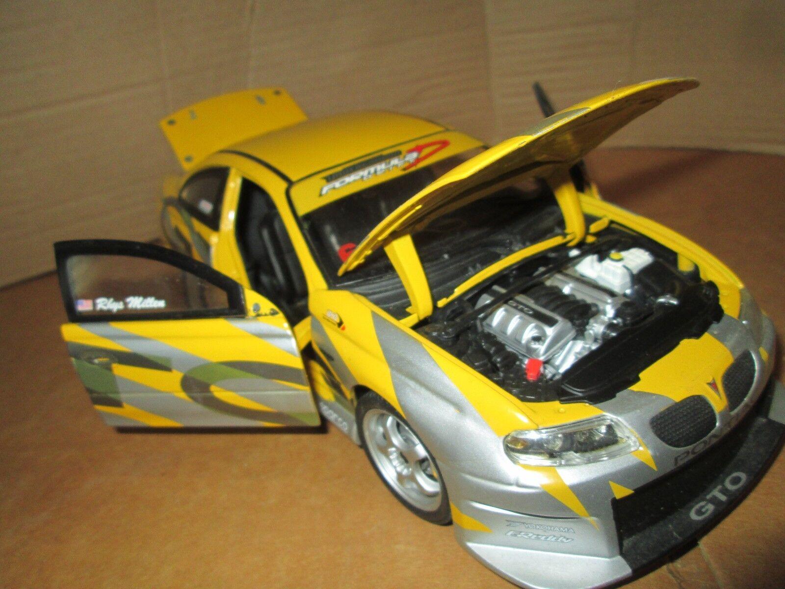 2004 PONTIAC GTO 1 18 JOY RIDE LIMITED Rally Racing version loose Affichage Pièce