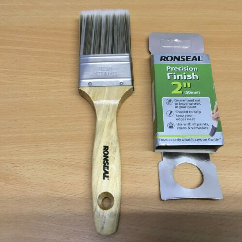 """Ronseal Precision finition 2/""""//50 mm Pinceau NEUF"""