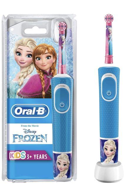 ORAL-B Kids - Frozen Spazzolino elettrico ricaricabile frozen disney 4 stickers