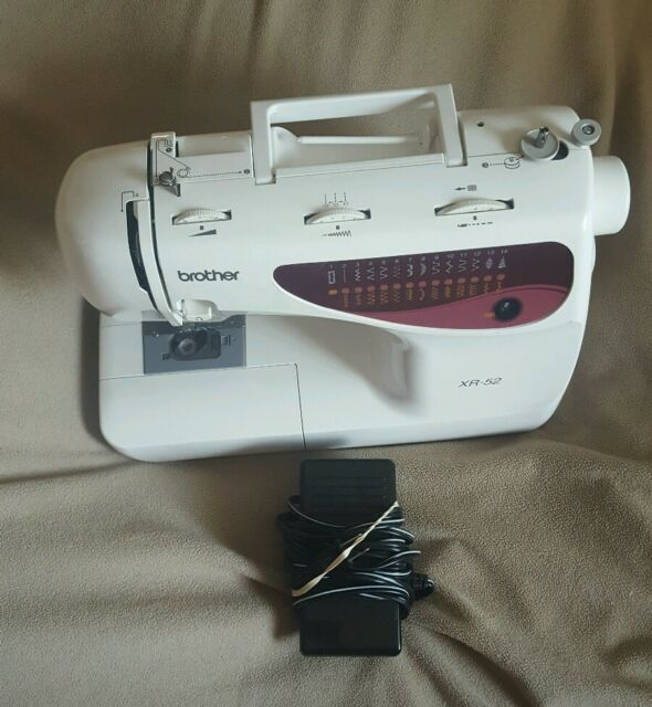 Brother Xr40 Electric 40stitch Sewing Machine For Parts Or Repair Best Brother Sewing Machines Repair