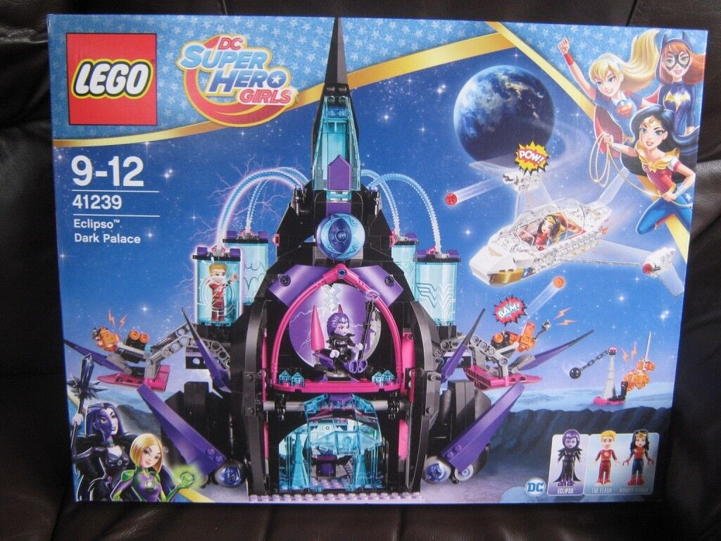 Lego Dc Super Hero Girls Eclipso Dark New Palace 41239 Oqhdbn5138